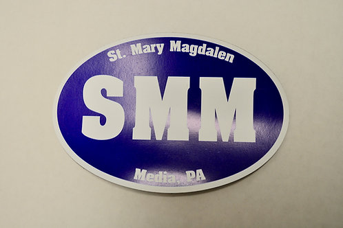 SMM Car Magnet