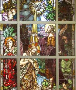 Baptism window
