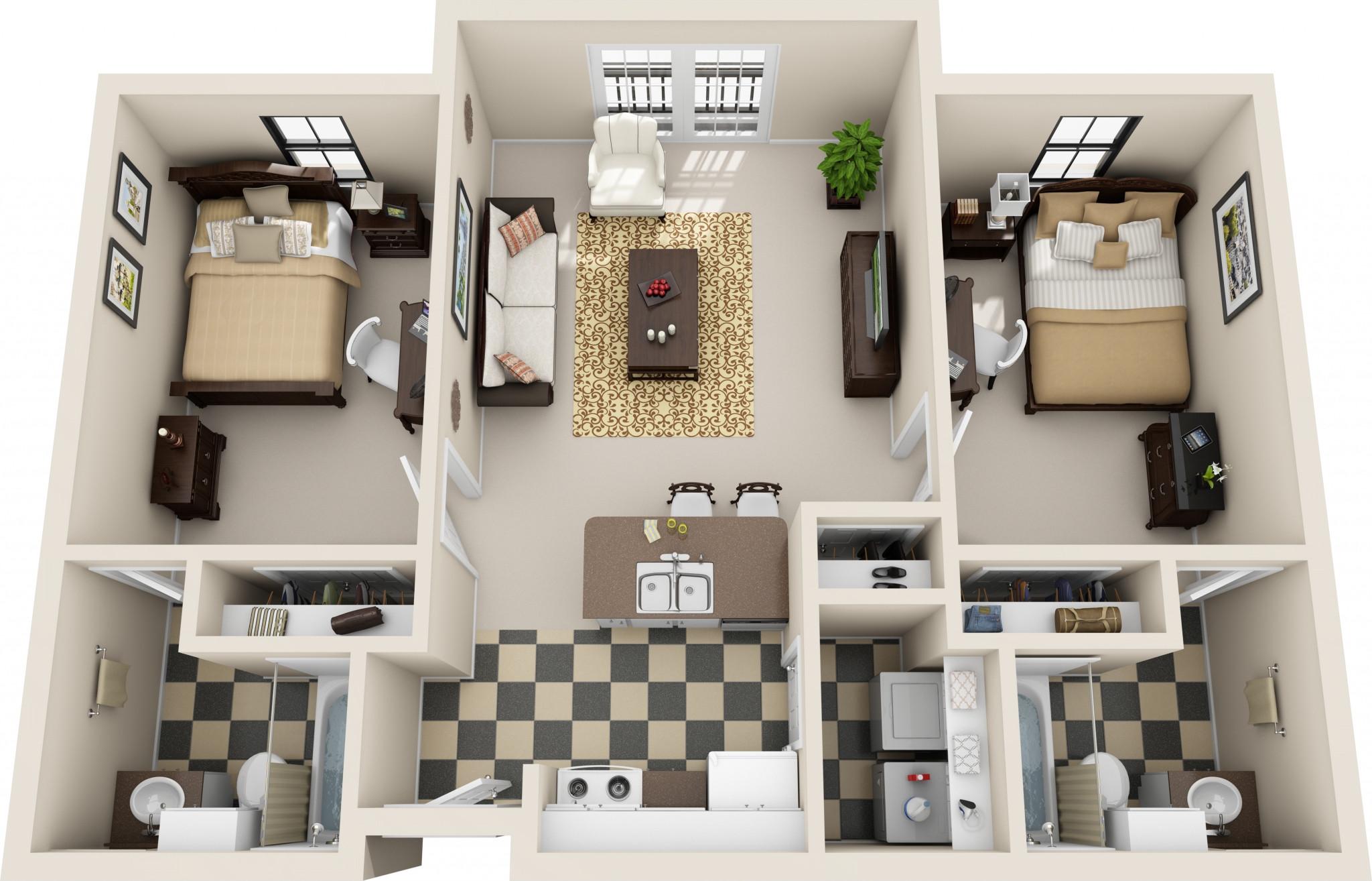 Deluxe Cleaning: 2 Bedroom
