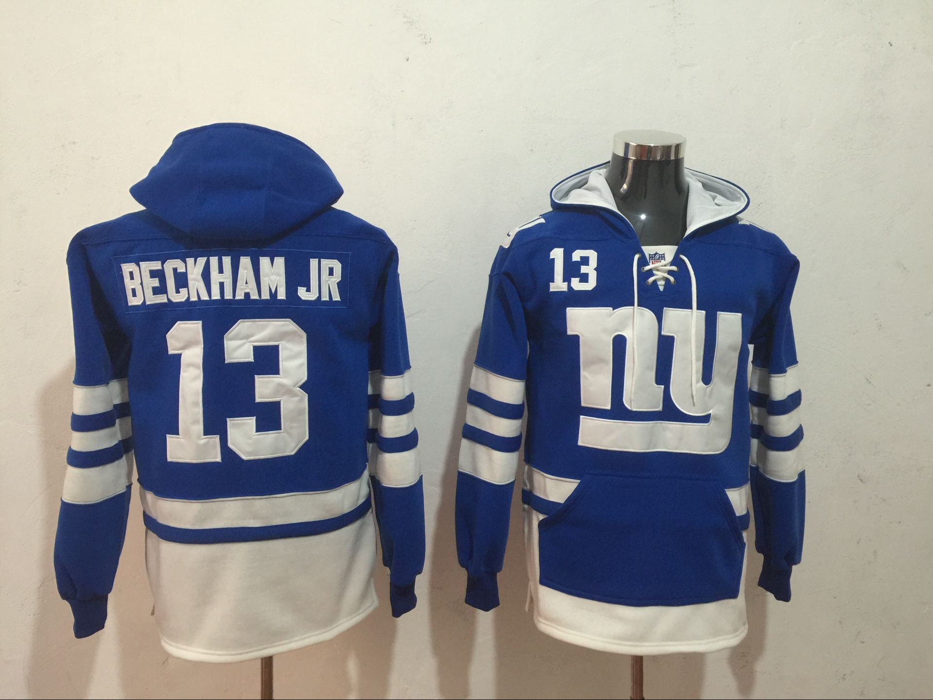 new arrival 170e2 b00c5 Odell Beckham Jr Stitched Jersey Hoodie