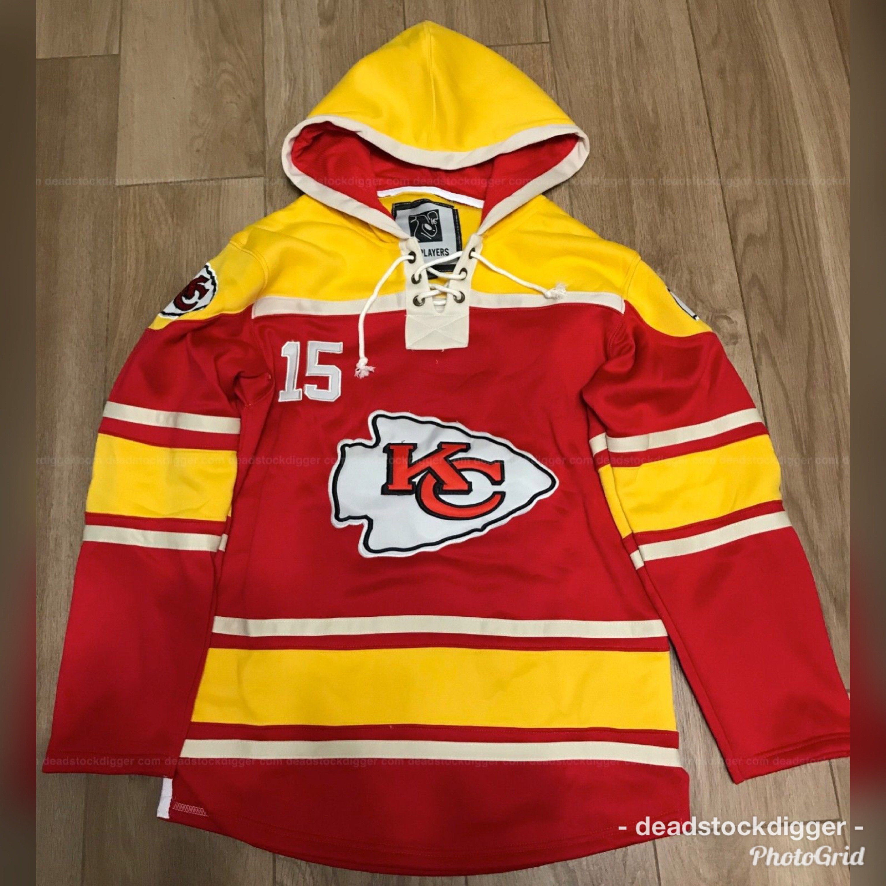 detailed look 183c9 d368c Patrick Mahomes Kansas City Chiefs Stitched Jersey Hoodie