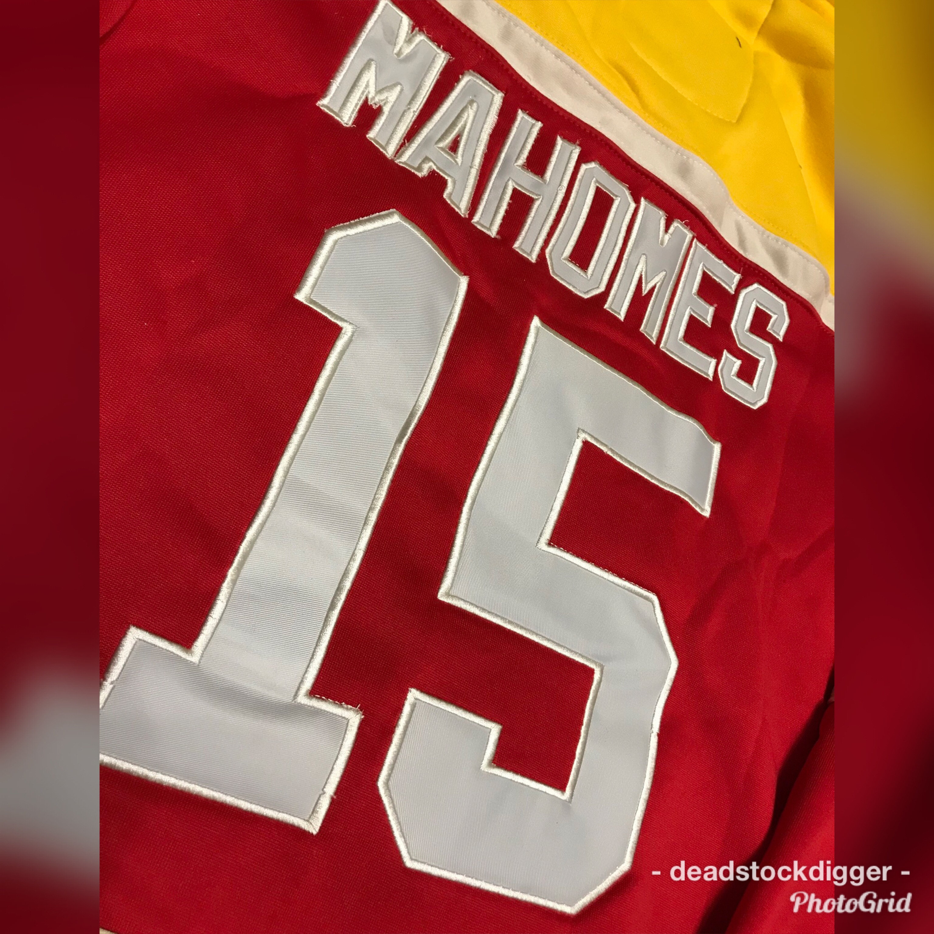 detailed look bcc83 b515f Patrick Mahomes Kansas City Chiefs Stitched Jersey Hoodie