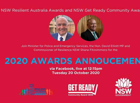 Next Step nominated for Resilience NSW Get Ready Community Award