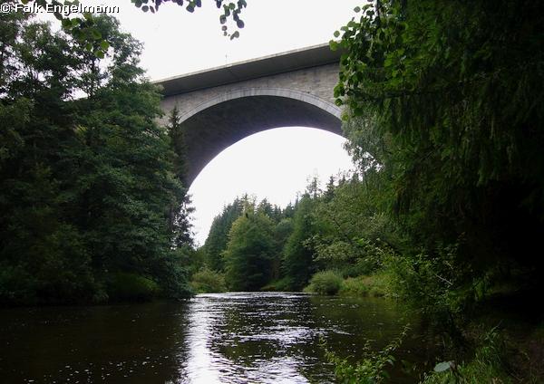 Talbrücke Sächsische Saale