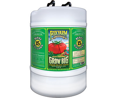 Grow Big Liquid Concentrate, 15 gal