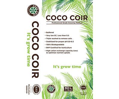 Char Coir100% RHP Certified Coco Coir, 50L