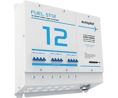 FUEL ST12 Light Controller - 12 Outlet, 240v w/Sin