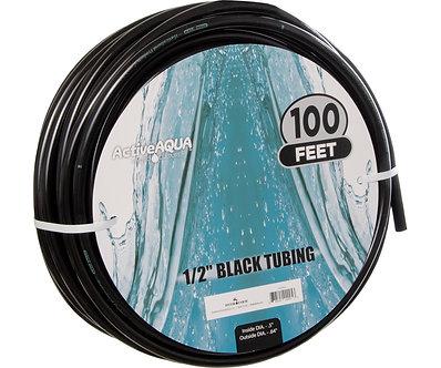 """1/2"""" ID Black Tubing 100'"""