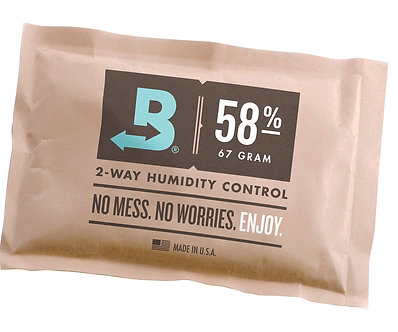 Boveda 58% RH (67 grams) - Individual Packets (case of 100)
