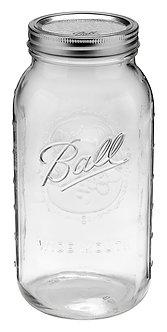 Ball Jar 64oz Wide Mouth Half Gallon (6/cs)