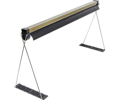 T5 Strip/Ref Fixture w/Lamp and Stand 2ft (9/cs)