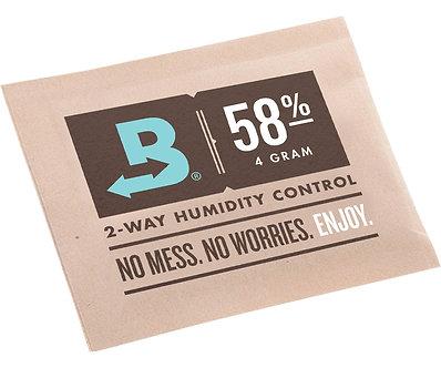 Boveda 58% RH (4 GRAMS) -- bulk (600 packets/case)