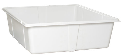 115 Gal Res Bottom Premium White