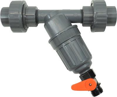 Dosatron InLine Filter Kit w/Unions 3/4in(200 Mesh/80Micron)