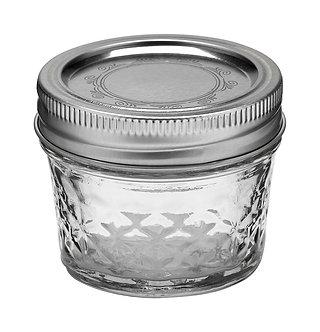 Ball Jar 4oz Quilted Crystal (12/cs)