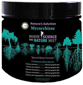 Nature's Solution Organic Mycorrhizae 8oz