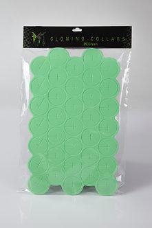 35 Green Cloning Collars