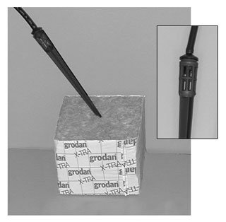 Basket Drip Stake w/Cage, pack of 100