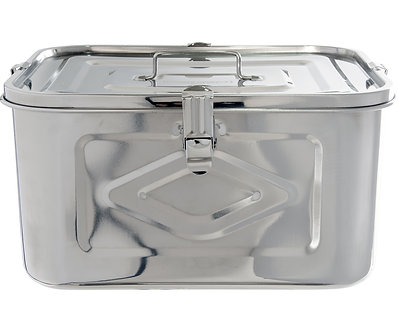 "Private Reserve Airtight Strongbox, 10 liters, 11.8""x9.5""x6."