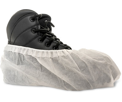 White FirmGrip Shoe Cover, One Size, case of 300