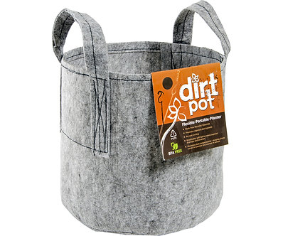 Dirt Pot 300 Gal w/Handle (6/cs)
