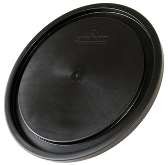 5 Gallon Bucket Lid, Black, pack of 10