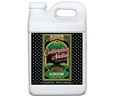 Cultivation Nation Grow 2.5 gal
