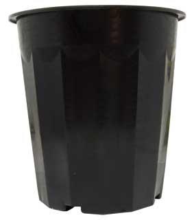 16 qt Black Plastic Bucket, pack of 50