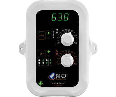 Day and night humidity controller with display