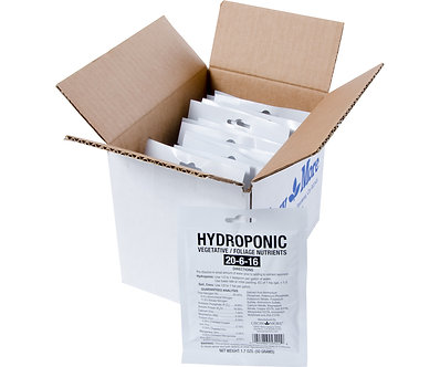 Hydroponic Vegetative Nutrients Pack of 25 - 50gm packets