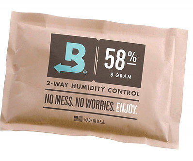 Boveda 58% RH (8 grams) -- bulk (300 packets/case)