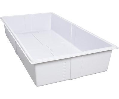 Active Aqua Premium Deep Flood Table, White, 2'x4