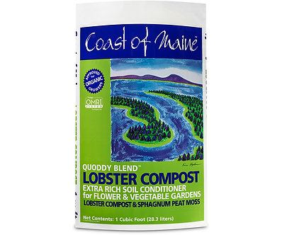 Coast of Maine Quoddy Blend Lobster Compost 1cf