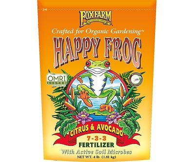 Happy Frog Citrus/Avocado Dry Fertilizer 4 lb bag