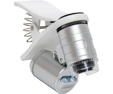 Active Eye Universal Phone Microscope 60x w/Clamp (12/c