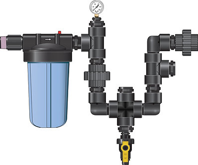 Dosatron NDS - Monitor Plumbing Kit 1.5in, without monitor