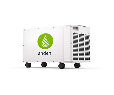Anden Dehumidifier, Movable, 95 Pints/Day