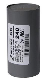Capacitor HPS 400W/Dry 55 MFD/240 VAC MIN
