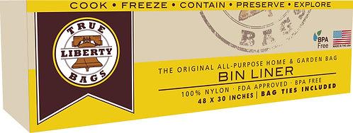 "35 Gallon Bin Liners 48"" x 30"" - 10 Pack"