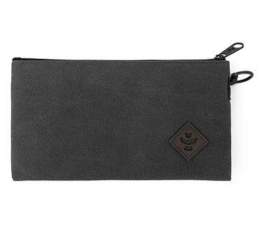 Broker - Smoke, Zippered Money Bag