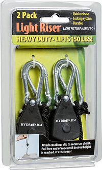 1/8'' Light Riser Hanging Sys Heavy Duty (2 per) (12/cs