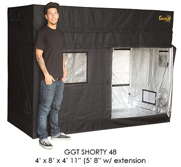 "4'x8' Gorilla Grow Tent SHORTY w/ 9"" Extension Kit"