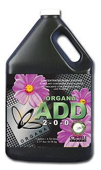 Organa Add 2-0-0 1 Gal (4/cs)