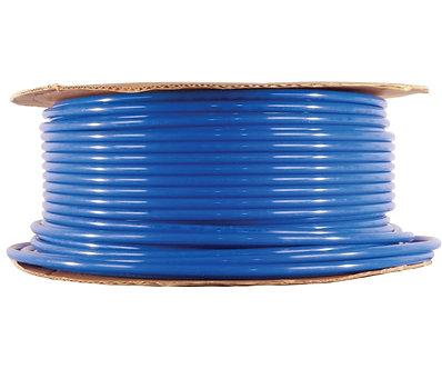 3/8 inch blue tubing, 500 feet per roll