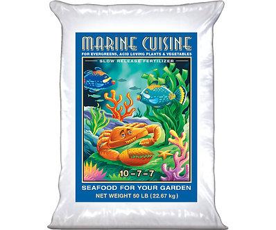 Marine Cuisine Dry Fertilizer 50 lb bag