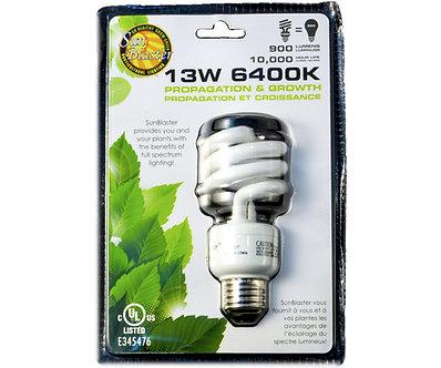 13W SunBlaster CFL 6400K