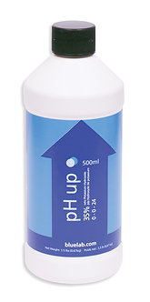 Bluelab pH Up 500ml Bottle (Case of 20)