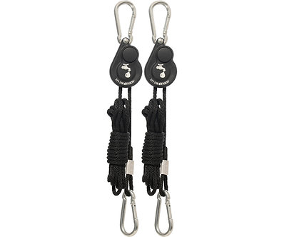 """1/8"""" Light Riser Hanging Sys w/Push Button Release (2/pk)"""
