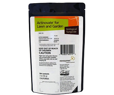Actinovate Lawn and Garden 2oz, CA ONLY