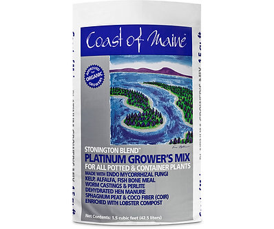 Coast of Maine Stonington Blend Organic Growers Mix 1.5cf